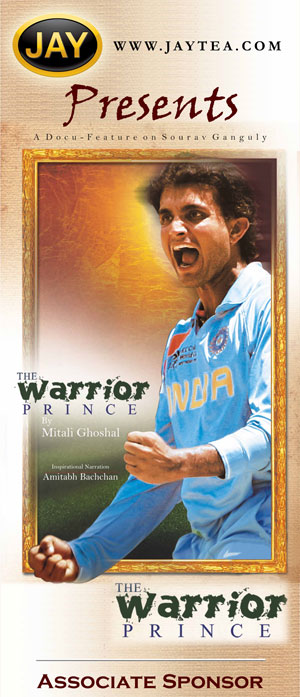 Jaytea Presents The Warrior Prince - Documentry on Sourav Ganguly